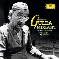 FRIEDRICH GULDA - Mozart (The Mozart Tapes Concertos & Sonatas)