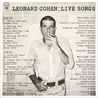 Leonard Cohen - Leonard Cohen: Live Songs