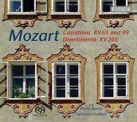 La Petite Bande - Cassations KV63 & 99 / Divertimento KV205