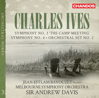 Jean-Efflam Bavouzet - Charles Ives: Symphonies Vol 3