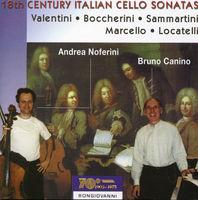 Andrea Noferini - 18th Century Italian Cello Sonatas / Various