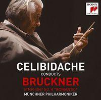 SERGIU CELIBIDACHE - Bruckner: Symphony 4 Romantic (Blus) (Jpn)