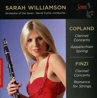 Orchestra of the Swan - Sarah Williamson Plays Copland & Finxi