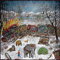 mewithoutYou - Ten Stories [Clear Purple with Swamp Green Vinyl]