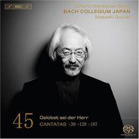 Bach Collegium Japan - Cantatas 45 (Hybr)