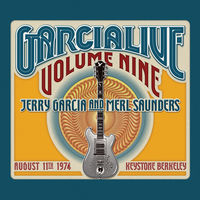 Jerry Garcia - Garcia Live Volume Nine: August 11th, 1974 Keystone Berkeley [2 CD]