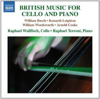 RAPHAEL WALLFISCH - British Music For Cello & Piano