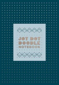 JOT DOT DOODLE NOTEBOOK BLUE AND SILVER