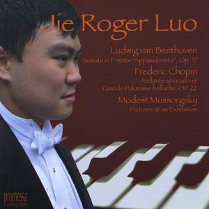 Jie Roger Luo Pianist - Beethoven Chopin & Mussorgsky