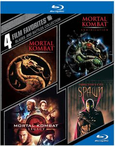 4 Film Favorites: Blades and Battles Collection