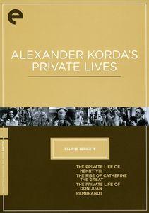 Alexander Korda's Private Lives (Criterion Collection)
