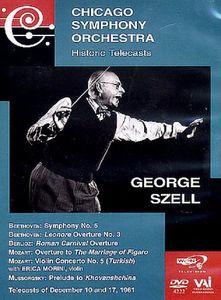 Chicago Symphony Orchestra: Historic Telecasts: George Szell