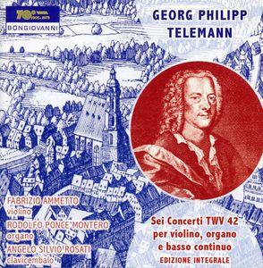 Sei Concerti TWV 42 (1734) Per Violino /  Organo E
