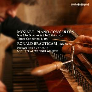 Piano Concertos Nos. 5 & 6 - Three Concertos K 107