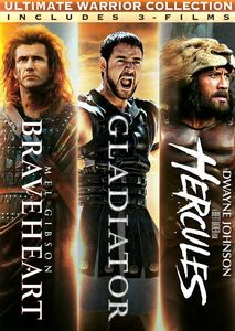 Ultimate Warrior Collection: Braveheart /  Gladiator /  Hercules: Triple Pack