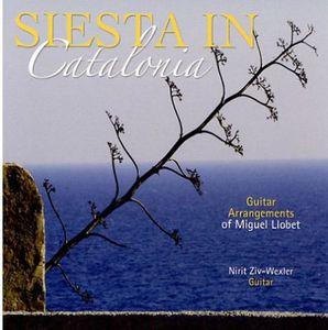 Siesta in Catalonia/ Guitar Arrangements of Miguel