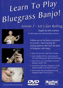 Learn to Play Bluegrass Banjo Lesson 2 Let's Get Rolling