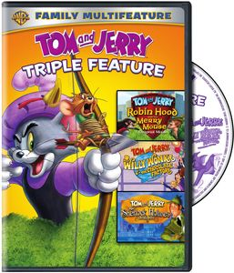 Tom And Jerry Triple Feature: Sherlock Holmes/ Willy Wonka/ Robin Hood