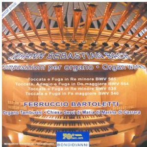 Toccate E Fughe BWV 565 564 538 540