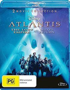 Atlantis: The Lost Empire /  Atlantis: Milo's Return [Import]