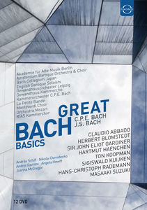 Great Bach Basics 12 DVD Box