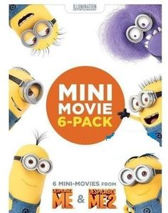 Despicable Me & Despicable Me 2 Mini-Movie 6-Pack