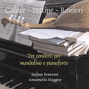 Tre Concerti Per Mandolino E Pianoforte