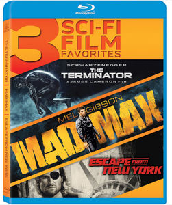 3 Sci-Fi Film Favorites: The Terminator /  Mad Max /  Escape From New