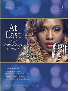 At Last Great Female Songs for Singers
