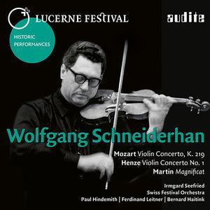 Wolfgang Schneiderhan: Lucerne Festival X
