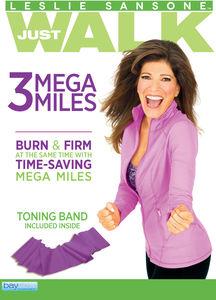 Leslie Sansone: 3 Mega Miles (Includes Free Toning Band)