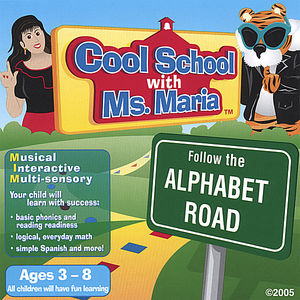 Cool School with Ms. Maria Follow the Alphabet Roa