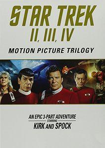 Star Trek: Motion Picture Trilogy II, III, IV