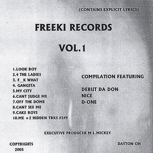 Freeki Records 1