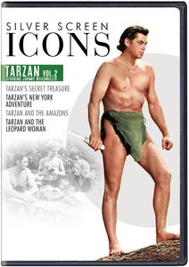 Silver Screen Icons: Johnny Weissmuller As Tarzan, Vol. 2