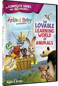 Wild Animal Baby Explorers Complete (4 DVD 9)
