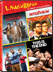 Laugh Out Loud: Pineapple Express /  This Is the End /  The Interview /  The Night Before