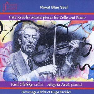 Fritz Kreisler Masterpieces for Cello & Piano
