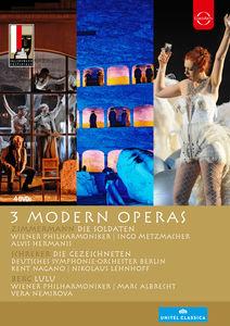 Salzburg Festival 3 Modern Operas
