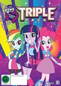 My Little Pony: Equestria Girls Triple Pack [Import]