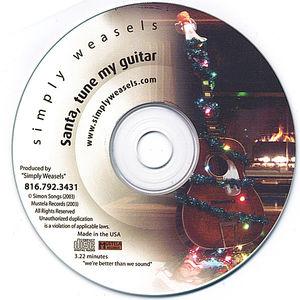 Santa Tune My Guitar