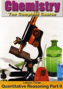 Chemistry: Quantitative Reasoning Part 2