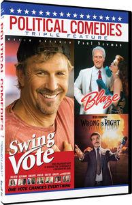 Political Comedies - Triple Feature DVD