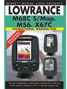 Lowrance M68c S /  map,M56,X67c