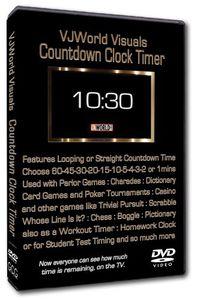 Vjworld Visuals Countdown Clock Timer