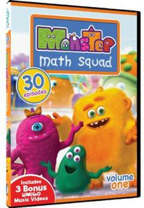 Monster Math Squad: Volume One - 30 Episodes