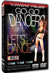 Vjworld Visuals: Go-go Dancers: Let's Dance: Volume 1