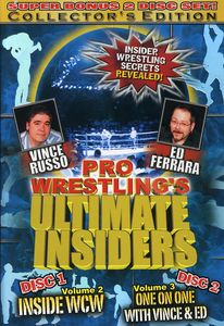 Pro Wrestling's Ultimate Insiders, Volumes 2 & 3 [Import]