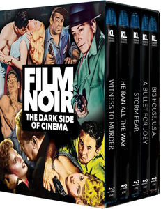 Film Noir: Dark Side of Cinema (Five-Disc Set)