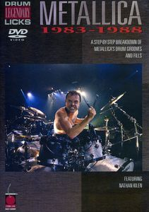 Metallica: Drum Legendary Licks 1983-1988